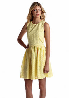 French Connection Sunflower Cotton Sleeveless Dress
