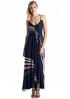 French Connection Rainbow Rays Maxi Dress
