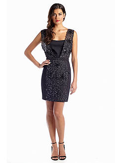 French Connection Angelfire Sparkle Dress