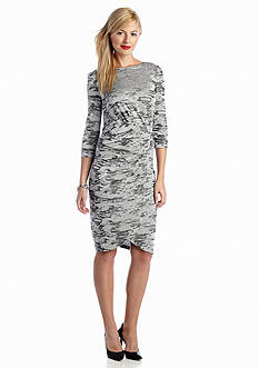 French Connection Stable Jacquard Dress