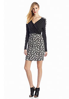French Connection Mini Paisley Party Dress