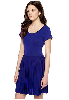 French Connection Penny Pleats Knit Dress