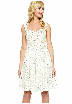French Connection Elizabeth Embroidery Dress