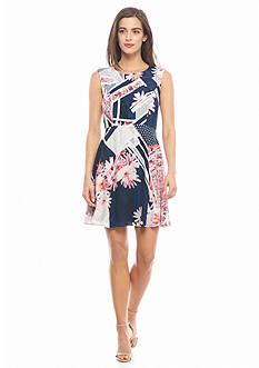 French Connection Samba Avenue Drape Dress