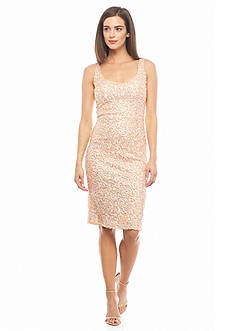 French Connection Celia Sequin Midi Dress
