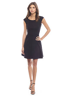 French Connection Whisper Light Fit and Flare Dress
