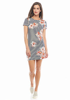 French Connection Samba Daisy Stripe Dress