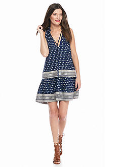 French Connection Castaway Drop Waist Dress