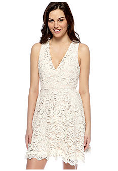 French Connection Loving Crochet Dress