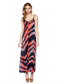 French Connection Electra Jersey V-Neck Maxi Dress