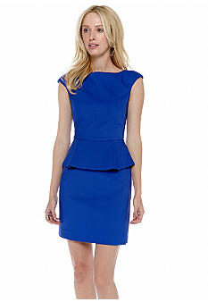 French Connection Super Stretch Peplum Dress