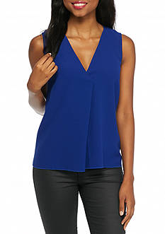 French Connection Arrow Crepe Tank