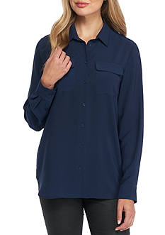 French Connection Pippa Plains Blouse