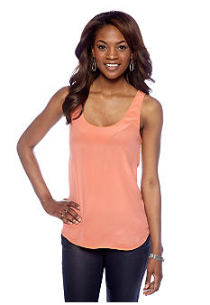 French Connection Chelsea Silk Classic Vest Top