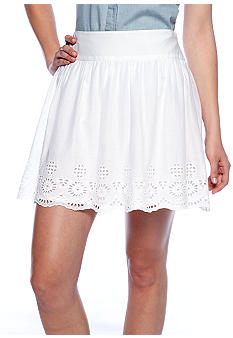 French Connection Anoushka Voile Eyelet Skirt
