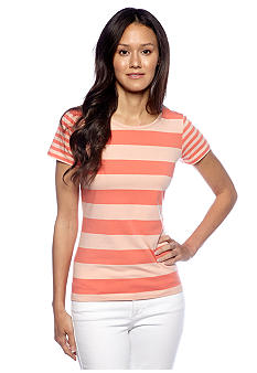 French Connection Fast Fun Stripe Tee