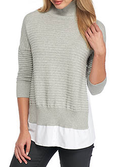 French Connection Mozart Mix Knit Sweater