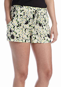 French Connection Tropicana Check Short