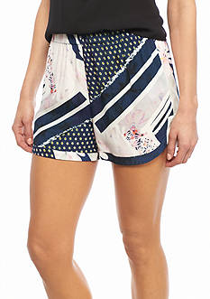French Connection Samba Avenue Drape Shorts