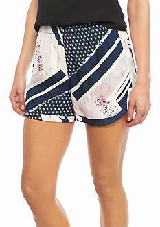 French Connection Samba Avenue Drape Shorts