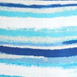 Kim Rogers Petites Sale: Blue/Turquoise Kim Rogers Petite Scenic Stripe Splice Top