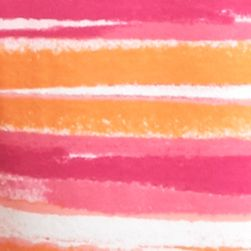 Kim Rogers Petites Sale: Pink/Orange Kim Rogers Petite Scenic Stripe Splice Top