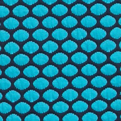 Kim Rogers Petites Sale: Turquoise/Navy Kim Rogers Petite 3/4 Sleeve Boat Neck Top