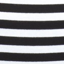 Kim Rogers Petites Sale: Black/White Kim Rogers Petite Ballet Neck Colorblock Top