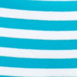 Petite Tops: Knit Tops: Turq/White Kim Rogers Petite Ballet Neck Colorblock Top