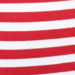 Kim Rogers Petites Sale: Red/White Kim Rogers Petite Ballet Neck Colorblock Top