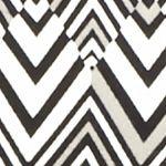Essentials: Tops & Tees: Grey/Black Kim Rogers Petite Square Neck Chevron Knit Top