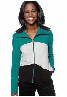 Kim Rogers® Petite Color Blocked Jacket