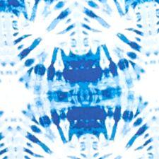 Kim Rogers Petites Sale: Blue Combo Kim Rogers Petite Tie Dye Burst Print Tee