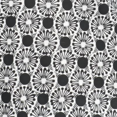 Petite Tops: Knit Tops: Black/White Kim Rogers Petite Pom Geo Tank