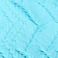 Kim Rogers Petites Sale: Caribe Turquoise Kim Rogers Petite Short Sleeve Horseshoe Neck Top