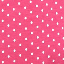 Kim Rogers Petites Sale: Fuchsia/White Kim Rogers Petite Polka Dot Embroidered Yoke Tank