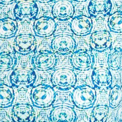 Kim Rogers® Women Sale: Blue/Turquoise Kim Rogers Coaster Ring Crew Neck Tee