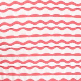 Kim Rogers® Women Sale: Guavatini/White Kim Rogers Texture Stripe Knit Tank