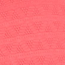 Kim Rogers® Women Sale: Coral Cast Kim Rogers Textured Henley Pocketed Knit Top