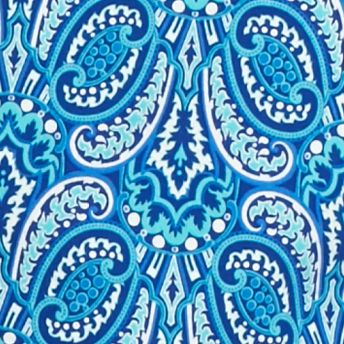 Kim Rogers® Women Sale: Blue/Turqiouse Kim Rogers Square Neck Heritage Scroll