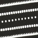Kim Rogers Women Sale: Black/White Kim Rogers Three Quarter Sleeve Crisscross Knit Top