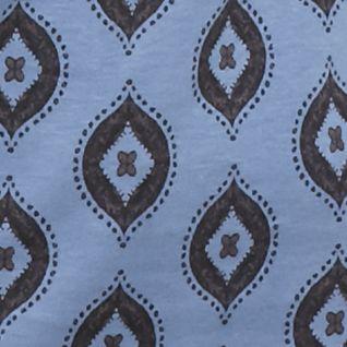 Kim Rogers Women Sale: Blue Kim Rogers Long Sleeve Mock Neck Top