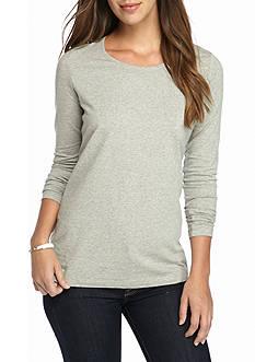 Kim Rogers Gray Long Sleeve Shirt