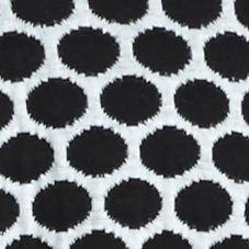 Kim Rogers Women Sale: White/Black Kim Rogers Long Sleeve Jacquard Dot Cardigan