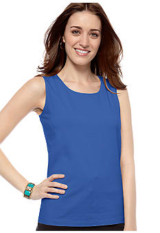 Kim Rogers Scoop Neck Tank