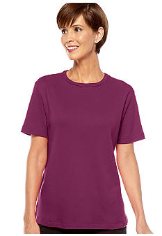 Kim Rogers Short Sleeve Crewneck Top
