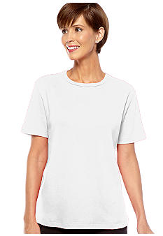 Kim Rogers® Short Sleeve Crewneck Top
