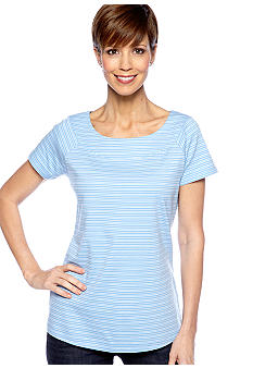 Kim Rogers Short Sleeve Marylin Mini Stripe Tee