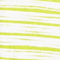 Layering Tees for Women: Lime / White Kim Rogers Rib V Neck Stripe Tee