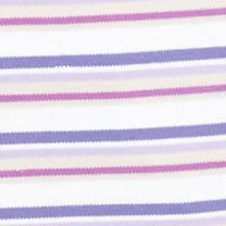 Layering Tees for Women: Purple / Plum Combo Kim Rogers Stripe Knit Tee